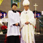 朴神学生の助祭・司祭候補者認定式